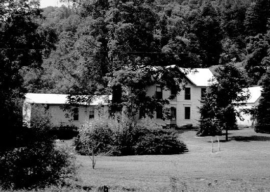 Thomas P. and Labana Jane Murphy Jarvis Homestead on Oka Road