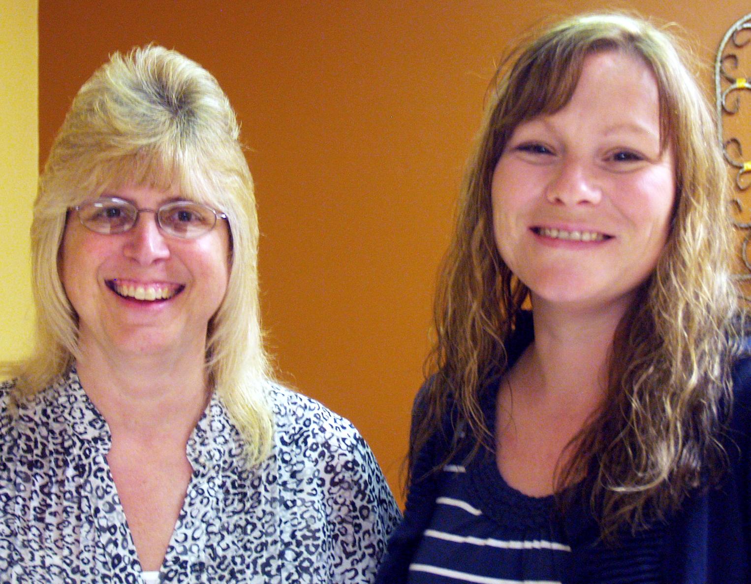 minnie hamilton nursing team selected to present national sandra ellis left and leann newell